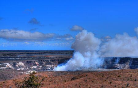kilauea: kilauea volcano on the big island of Hawaii