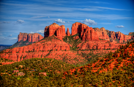 surrounding: Red Rock country mountains surrounding Sedona Arizona