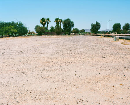 Vacant subdivision housing lot