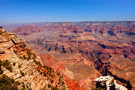 rock strata: Late afternoon in the Grand Canyon Arizona