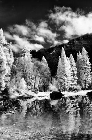merced: Merced River Yosemite Valley National Park California in autumn