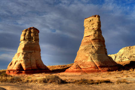 tuba: Hoodoos near Tuba City Arizona Navajo Nation
