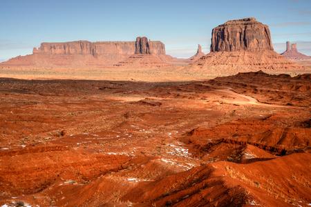 navajo land: Monument Valley north east Arizona Navajo Nation