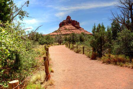 sonora: Bell Rock Red Rock country mountains surrounding Sedona Arizona