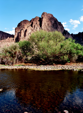 Salt River Usury mountain park near Phoenix Arizona Maricopa county