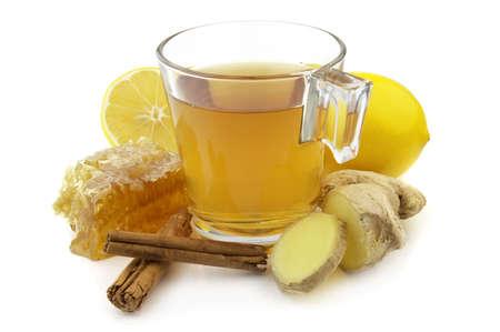 Ginger tea photo