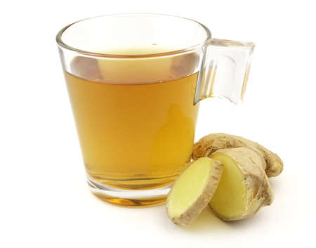 hot drink: Tea with ginger