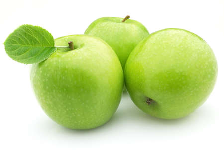 apple green: Green apples
