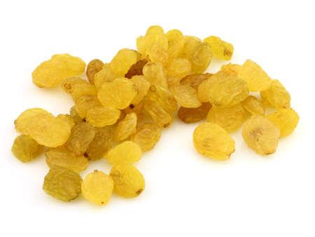 Sweet raisins on a white background Stock Photo - 11080465