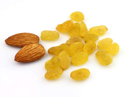 Almonds with raisins Stock Photo - 11080534