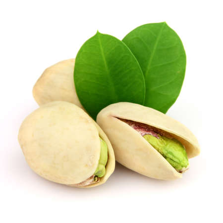 hard core: Dried pistachio with leaves