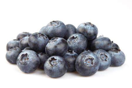 Fresh blueberry in closeup photo