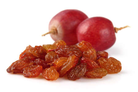 Raisins with grapes Stock Photo - 12231340