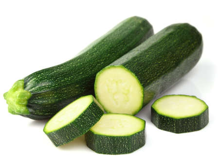Fresh zucchini photo