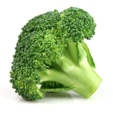 �broccoli: Br�coli fresco en primer plano Foto de archivo