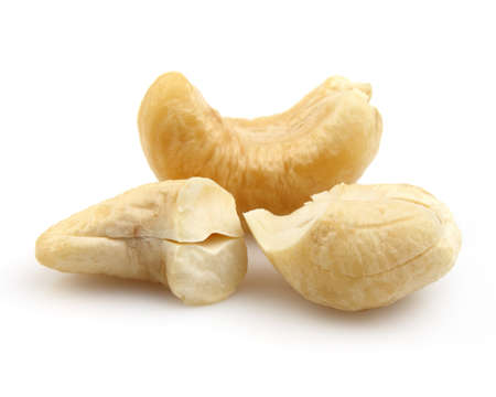 cashew nuts: Cashew in closeup Stock Photo