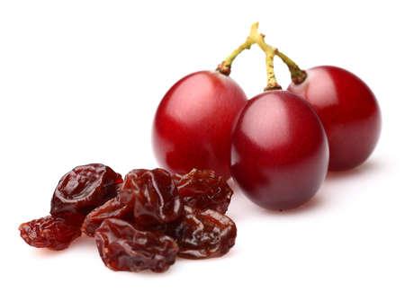 Raisins avec des raisins secs Banque d'images - 15439290