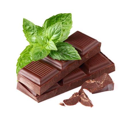 chocolate mint: Dark chocolate with mint