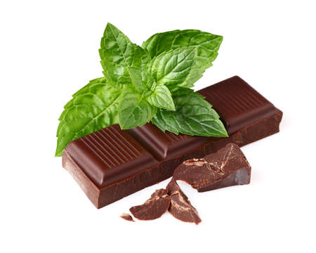peppermint candy: Chocolate with peppermint