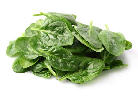 spinaci: Mucchio di foglie di spinaci Archivio Fotografico