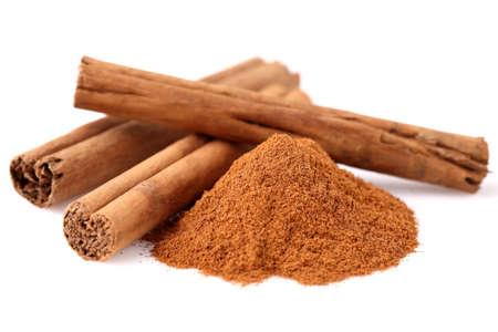 cannelle: Cinnamon in closeup