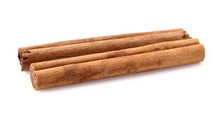 cannelle: Two sticks of cannelle in closeup Stock Photo