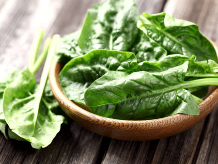baby spinach: Fresh spinach Stock Photo