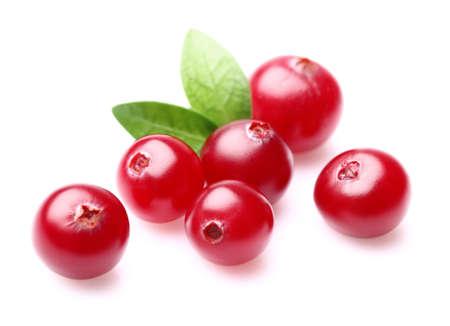 Cranberry met bladeren