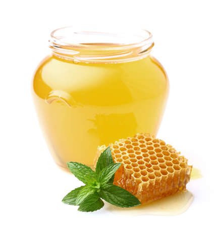 Honey with mint
