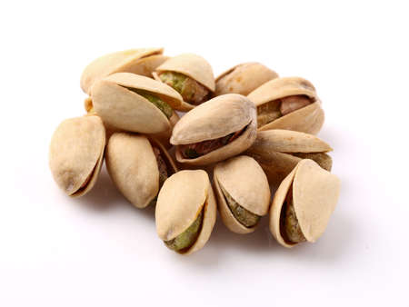 pistachios: Pistachios in closeup Stock Photo