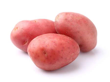 Rode aardappel Stockfoto