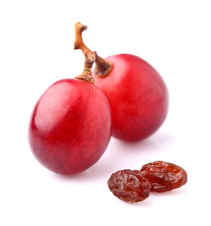 Druiven met rozijnen