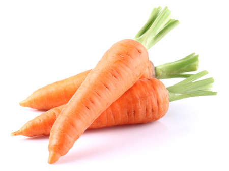 Fresh carrot in closeup Stock Photo