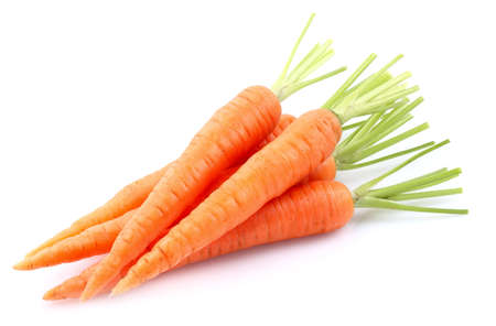 Young carrots Stock Photo