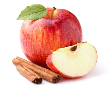 apple red: Apple with cinnamon