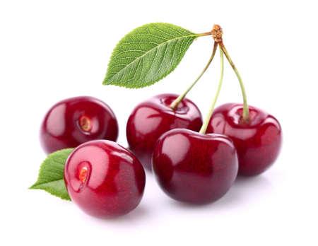 Sweet cherry in closeup Stock Photo