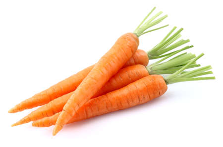 isolated: Fresh carrot