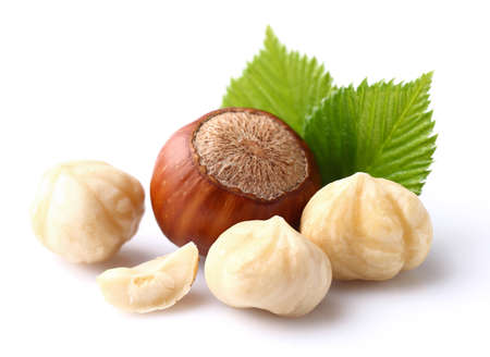 Hazelnuts Standard-Bild