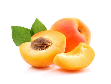 honeyed: Ripe apricots with slice