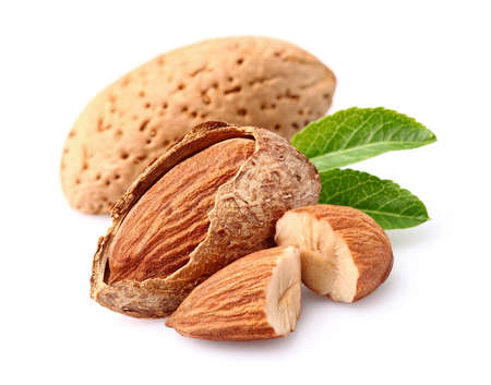 Almonds kernel Banque d'images