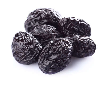 Dried prune in closeup