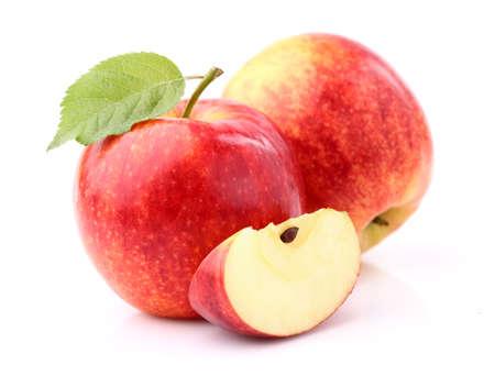 pomme rouge: Les pommes fra?ches Banque d'images
