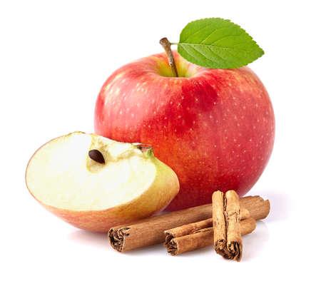 apfel: Apple mit Zimt Lizenzfreie Bilder