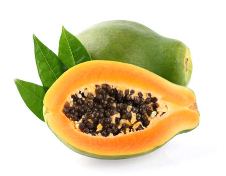 Fresh papaya 写真素材