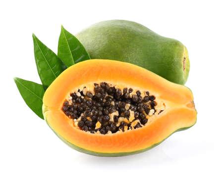 Fresh papaya Banque d'images