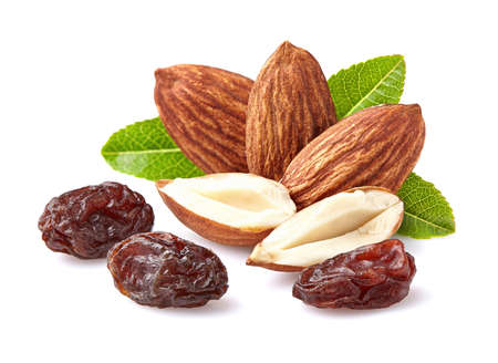 Almonds with raisins