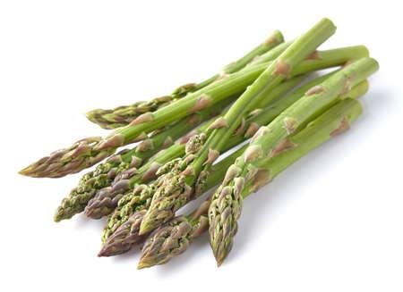 Asparagus in a wooden background Standard-Bild
