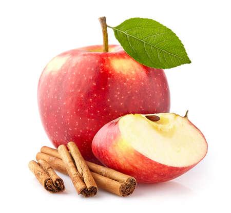 manzana roja: Apple con canela