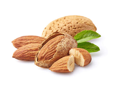 Almonds kernel Stock Photo