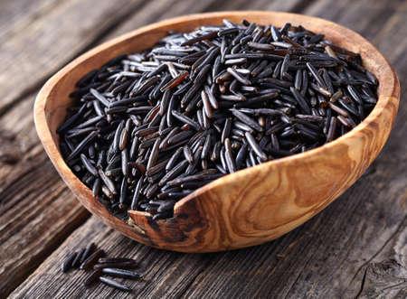 black rice: Wild rice